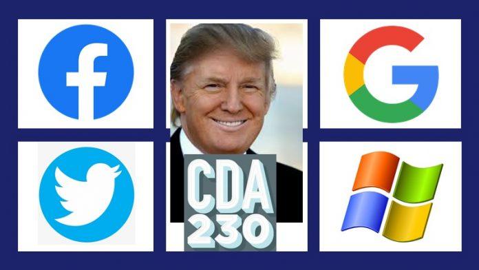 Donald Trump contra la Sección 230