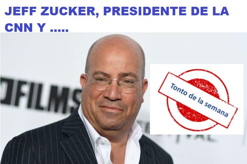 """Presidente de la CNN nombrado """"Tonto de la Semana"""" por Freenoticias"""