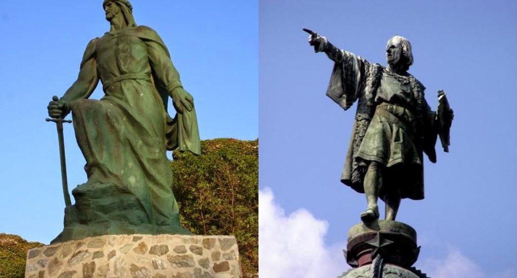 Abderramán III y Cristóbal Colón