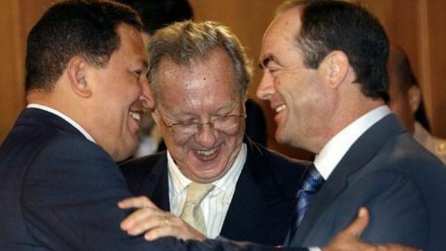 Chavez Morodo y José Bono