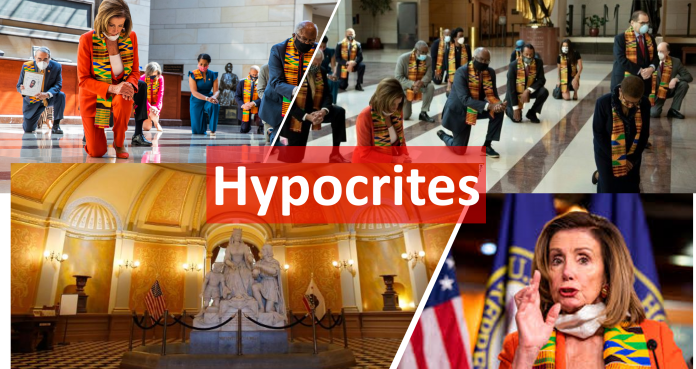 Hypocrites Pelosi and her gang