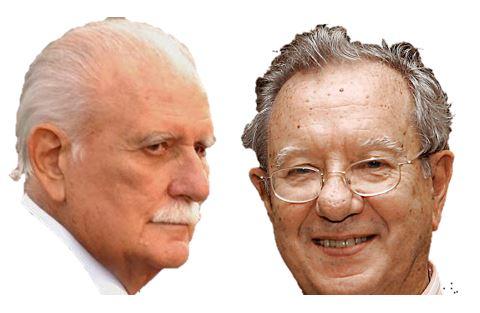 José vicente Rangel y Raúl Morodo