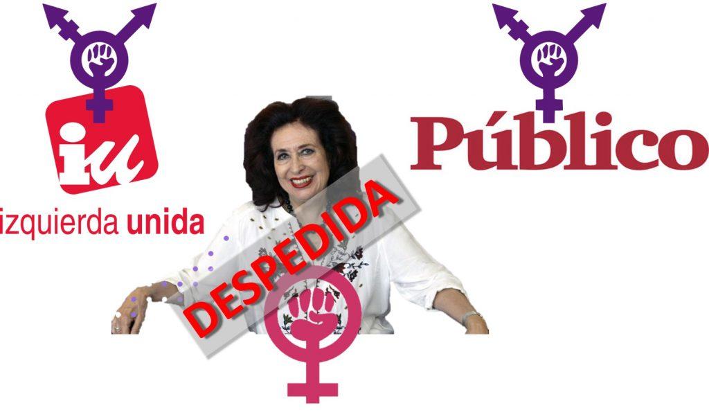 Lidia Falcón y el feminismo expulsados de IU y Público