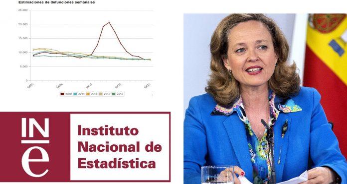 Nadia Calviño atiza al Sánchez con el INE
