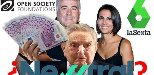 Newtral está financiada por George Soros