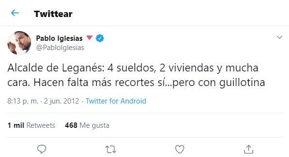 Iglesias alcalde de leganés