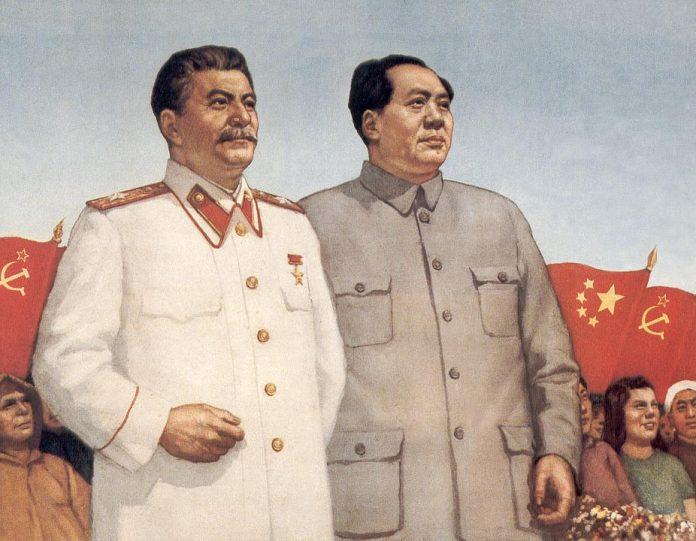Iosef Stalin y Mao Tse Tung. Dos antifranquistas