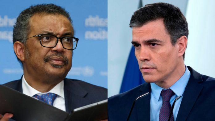 Tedros y Sánchez dos demagogos patéticos