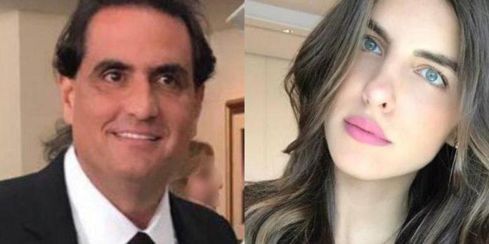 Alex Saab y Camila Fabri