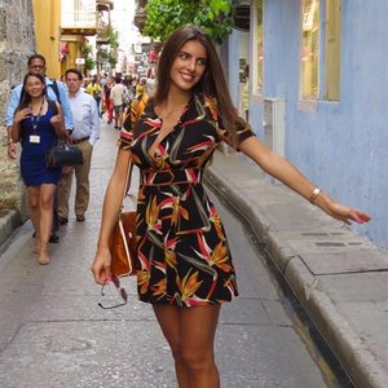 Camila Fabbri, esposa de Álex Saab
