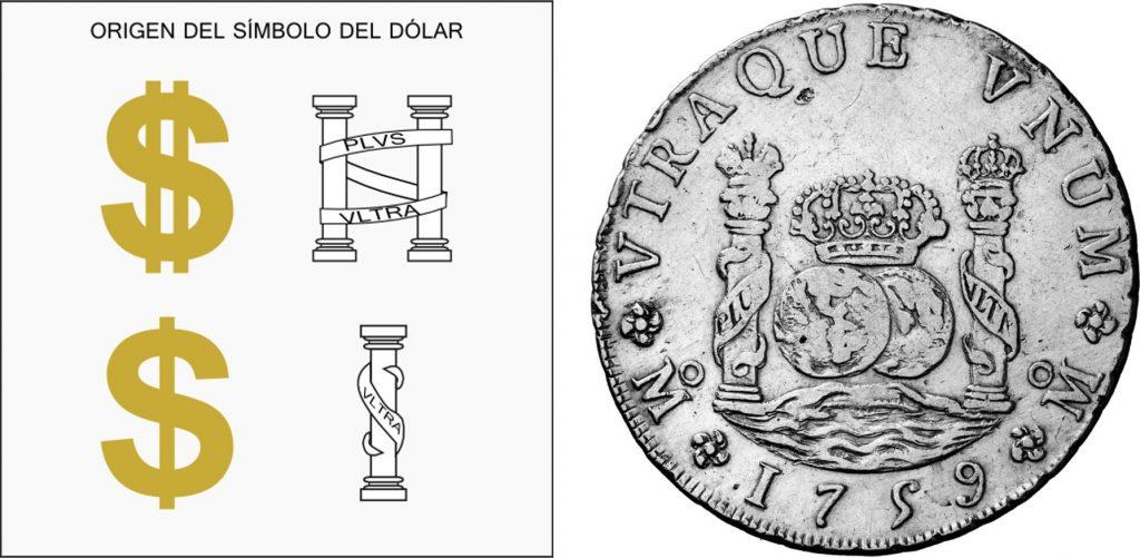 Origen español del Dólar