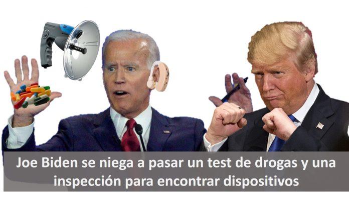 Biden se niega a pasar un test de drogas
