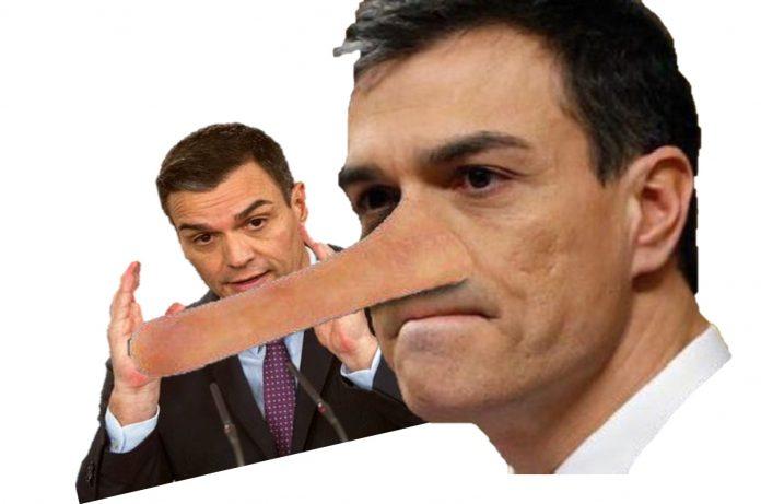 Pedro Sánchez dice una cosa y la contraria en menos de 10 segundos