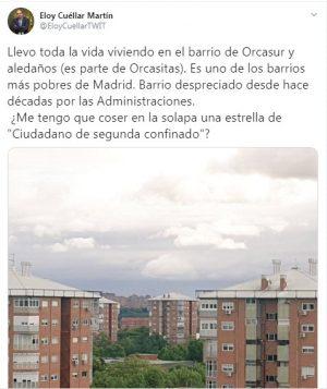 Tuit de Eloy Cuéllar Martín