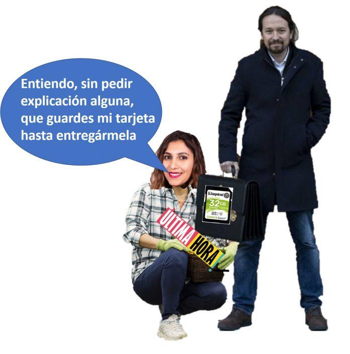 Dina Bousselham Sumisión al macho Alfa en Podemos