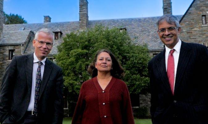 Promotores del Manifiesto de Great BarringtonMartin Kulldorff, Sunetra Gupta y Jay Bhattacharya