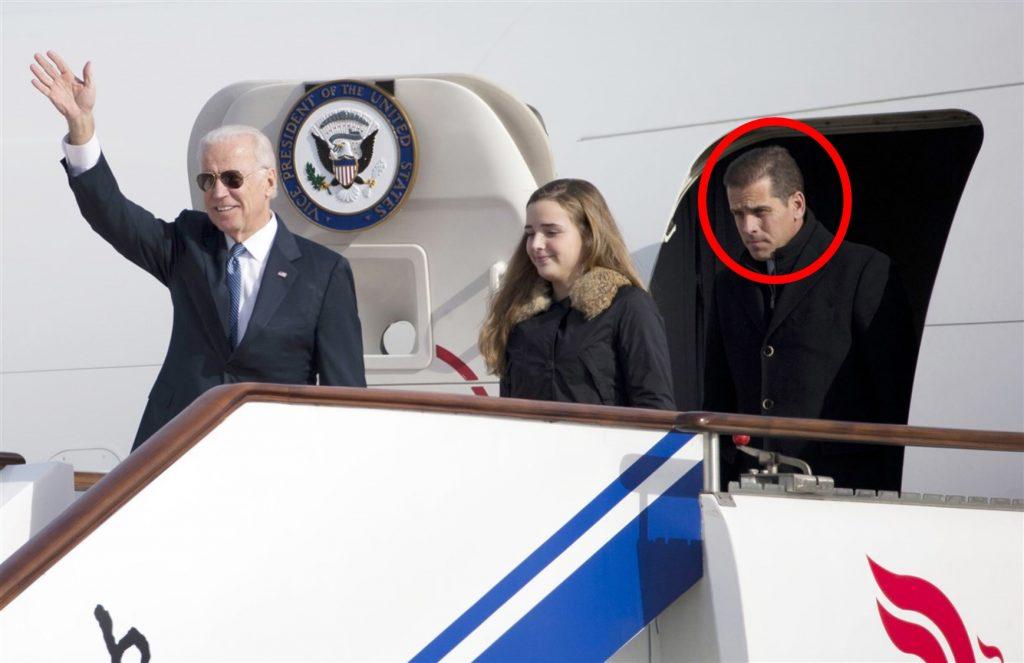 Joe y hunter Biden en China Diciembre 2013