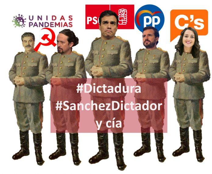 #SanchezDictador y Cia