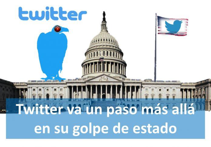 Twitter atacando a miembros del Congreso de EEUU