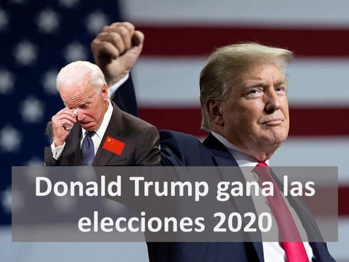 Donald Trump gana las elecciones de 2020
