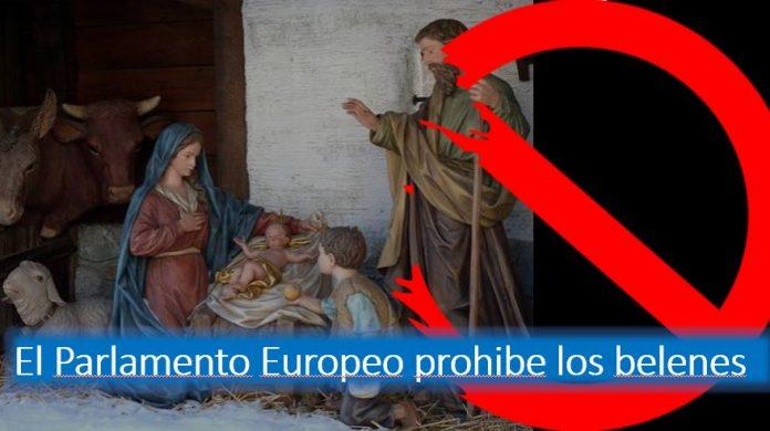 El Parlamento europeo prohíbe los belenes