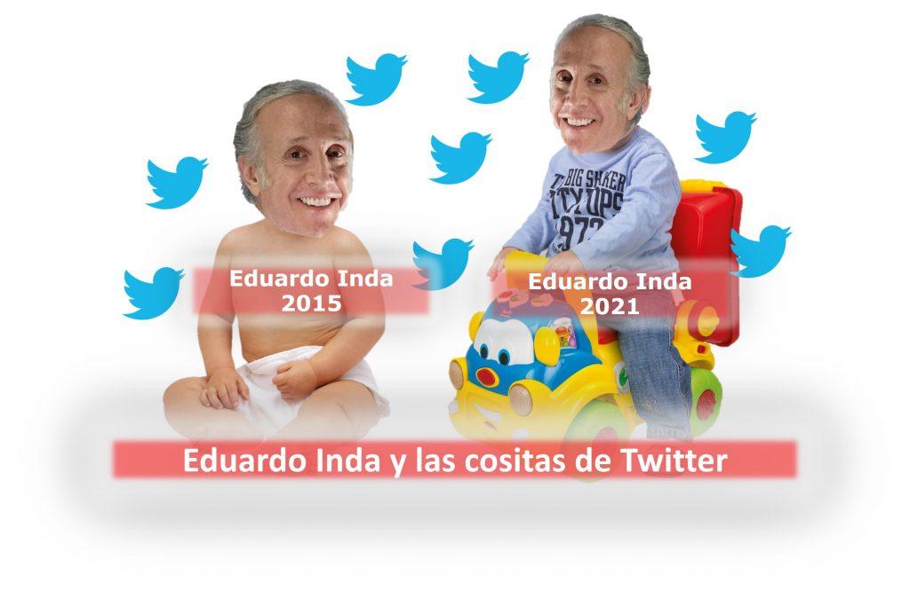 Eduardo Inda y las cositas de Twitter
