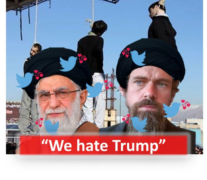 Jack Dorsey and his pal Ali Khamenei