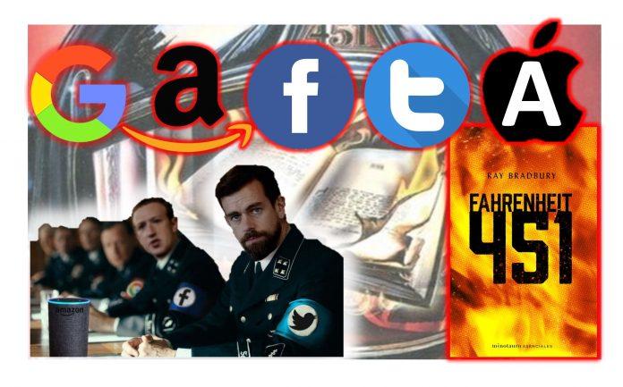 Los bomberos del GAFTA Farenheit 451