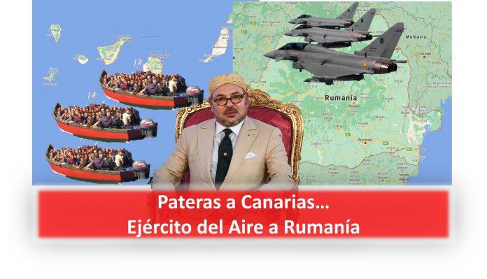 Pateras a Canarias...Ejército del Aire a Rumanía