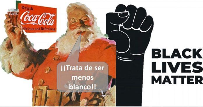 Coca Cola hipócrita racista