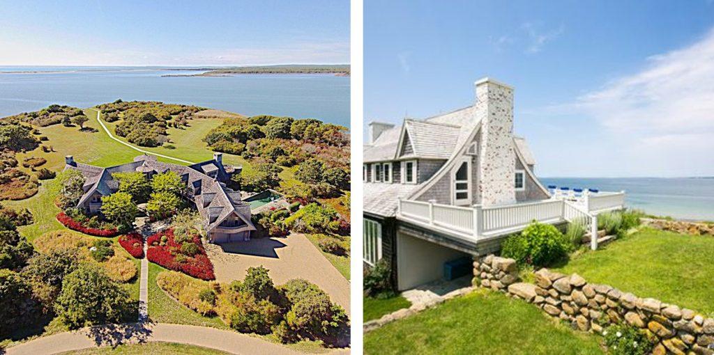 Mansiones de Obama y John Kerry en la exclusiva isla de Martha´s Vineyard en Massachusetts