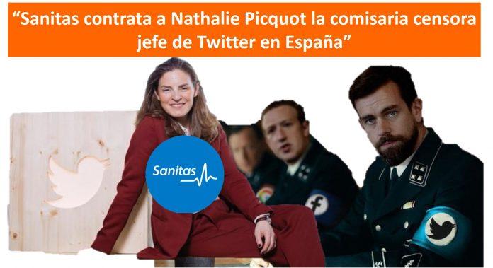 Sanitas contrata a Nathalie Picquot la comisaria censora jefe de Twitter en España