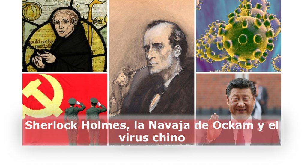 Sherlock Holmes, la Navaja de Ockam y el virus chino