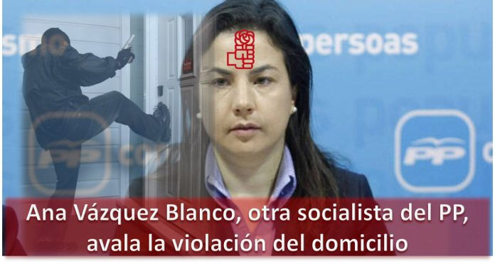 Ana Vázquez Blanco, otra socialista del PP