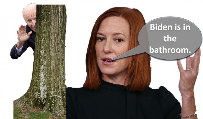 Biden is lost in the woods