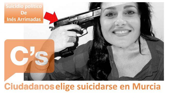 Ciudadanos elige suicidarse en Murcia