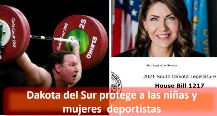 Dakota del Sur protege a las niñas y mujeres deportistas