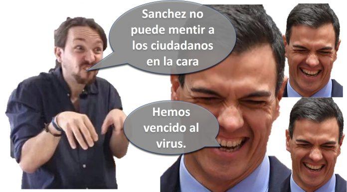 Sánchez no puede mentir a los ciudadanos en la cara