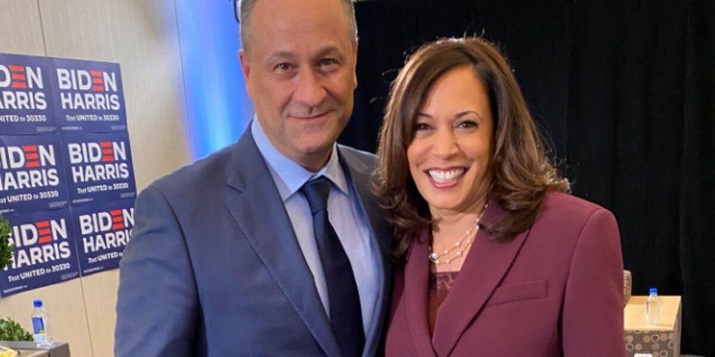 Kamala Harris y su mujer  según Joe Biden