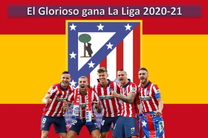 El Atlético de Madrid gana La Liga 2020-21