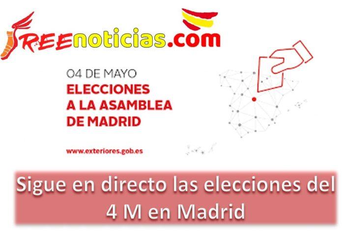 Elecciones 4M en Madrid