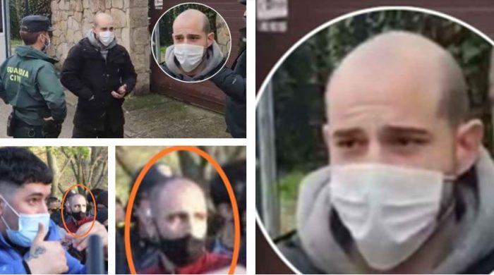 Iñaki Jiménez el Pirrakas en los ataques a VOX en Vallecas
