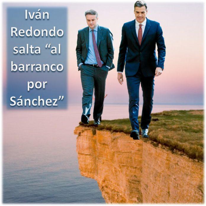 Iván Redondo salta al barranco por Sánchez