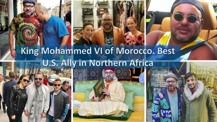 King dictator Mohammed VI of Morocco. Why can this guy best U.S. ally in Northern Africa?