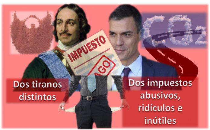 Pedro Sanchez y el impuesto por usar las carreteras