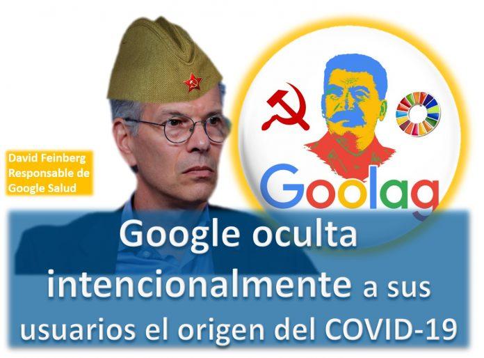 Google trata de censurar la verdad sobre el origen del COVID-19