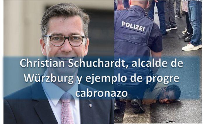 Christian Schuchardt, alcalde de Würzburg y ejemplo de progre cabronazo
