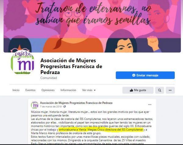Ylenia Megias Chico y sus amigas feministas